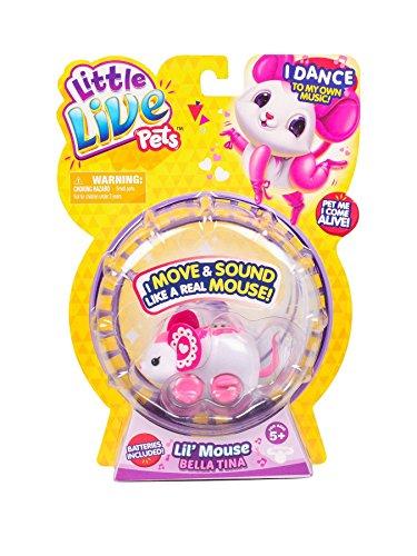 Little Live Pets - Lil' Mouse Series 3 - Bella Tina (P)