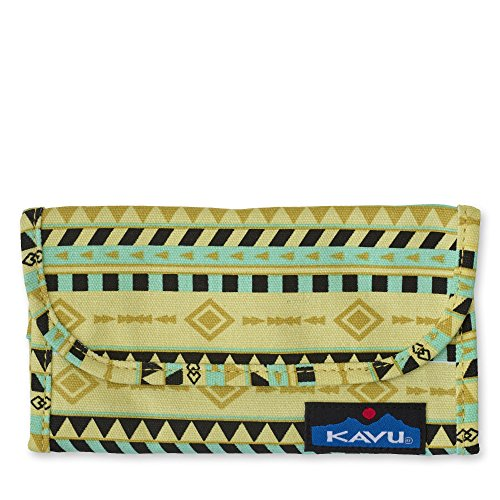 Tri Fold Belt - KAVU Women's Big spender Backpack, Gold Belt, One Size