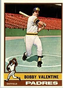 1976 Topps #366 Bobby Valentine San Diego Padres Baseball