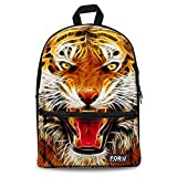 Back to School Tiger Bookbag