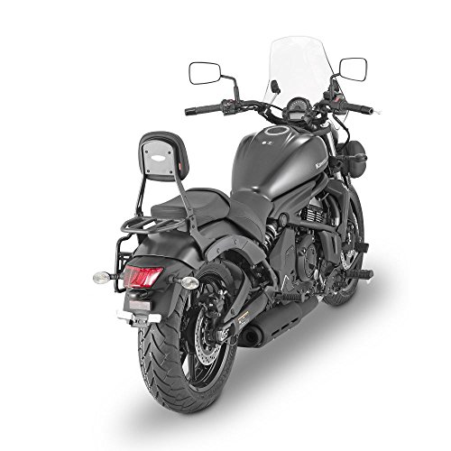 GIVI TS4115B Sissybar With Removable Small Luggage Carrier For Kawasaki Vulcan S - Soft Givi Luggage