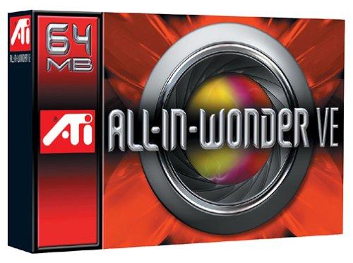 ATI Technologies 100-711041 All-In-Wonder VE Radeon 7500 64MB DDR PCI Graphics Card - 64mb Ati Radeon 7500