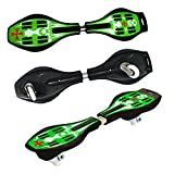 Toy Cubby Cruiser Kids Caster Ripstik Boards (Green)