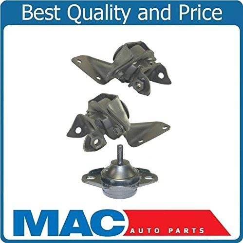 87-93 Mustang Hardtop 2.3L P/S D/S (2) Engine Mount Automatic Trans Mount ()