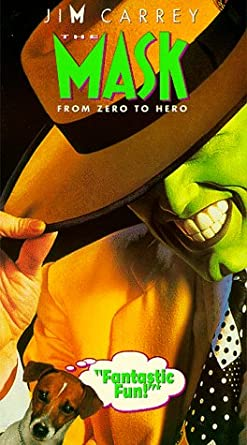 The Mask [USA] [VHS]: Amazon.es: Jim Carrey, Peter Riegert ...