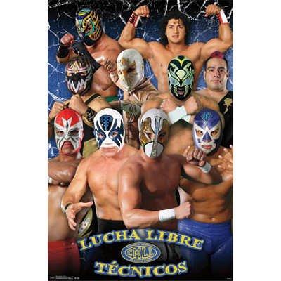 Trends Intl. Lucha Libre Tecnicos Poster