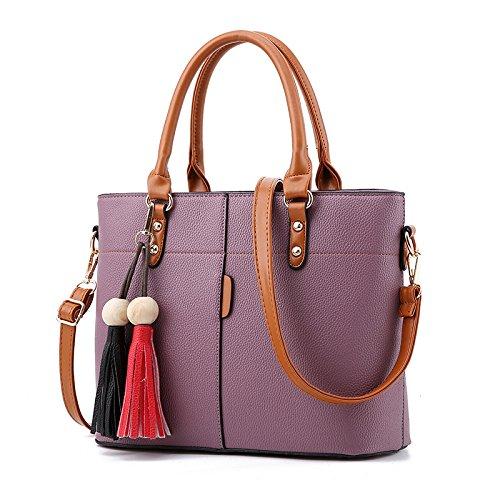 Bolso purple Casual Bolso Nuevo Big Deep Banchao Purple Transversal Señoras Bag Meoaeo NAD Oblicua Deep fEqw65W