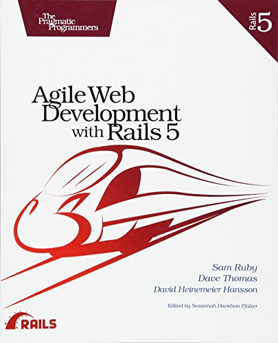 Agile Web Development with Rails 5 by Pragmatic Bookshelf