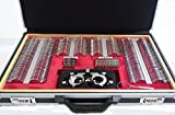 Trial Lens Set-261 Pieces w/ Aluminum Case and Wooden Tray for Drawer Storage
