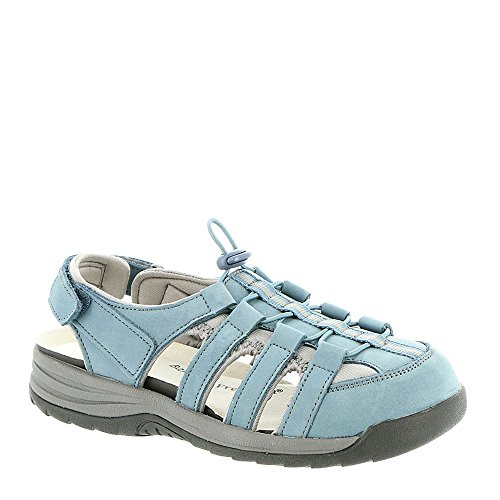 Drew Womens Element Denim Blue Nubuck Sandal
