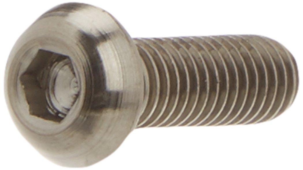 Msc TT6X20I7380 Tornillo titanio Allen m6x20mm iso7380 gr5