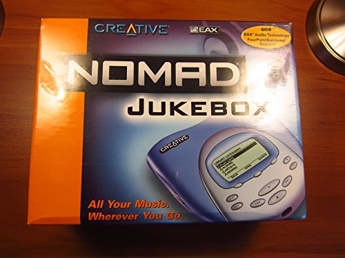 Creative Labs Nomad Jukebox Blue