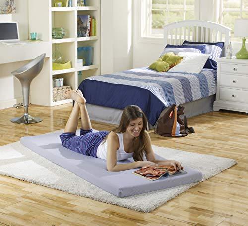Simmons Beautysleep Siesta Memory Foam Mattress Roll Up