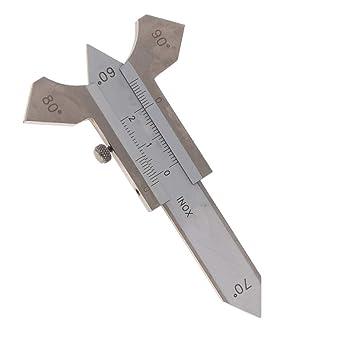 Medidor de soldadura F Fityle Detecta varias ranuras, ángulo de ancho, soldador