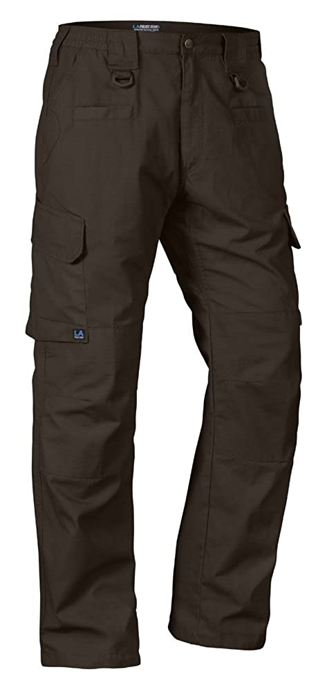 LA Police Gear Men Operator Tactical Pant with Elastic Waistband