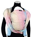 DIDYMOS Woven Wrap Baby Carrier Prima Aurora (Organic Cotton), Size 6 For Sale