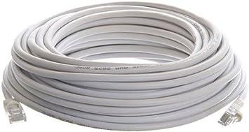 16ft RJ45 Cat5 Patch Cord Cable 500mhz Ethernet Internet Network LAN UTP Grey Us