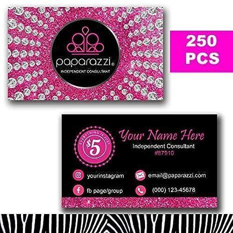 1ec8e4dea Amazon.com : Paparazzi Business Cards Custom 2