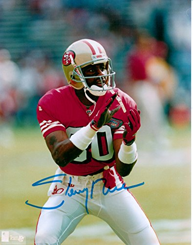 - Jerry Rice 49'ers 8 X 10 Photo Autograph on Glossy Photo Paper