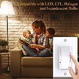 LED Dimmer Switch, Allsmartlife Single Pole/ 3-Way