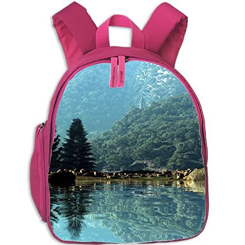 Backpack Printed Laptop Beautiful Nature Wallpaper School Bookbags College Bags Daypack Travel Bag (Best Nature Wallpapers For Laptop)