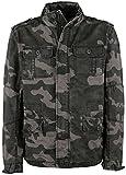 Brandit Britannia Jacket Dark Camo Size XL