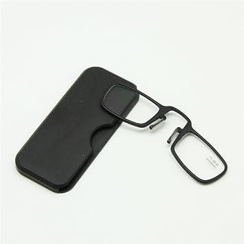 69b18ea2b7cb Amazon.com  Nose Resting Reading Glasses +1.0 to +3.5 Stick Anywhere ...