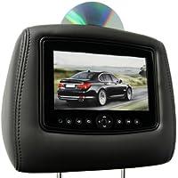CarShow by Rosen CS-CDESC07-B22 Single DVD Headrest System