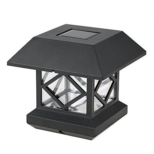 Solar Powered Pillar Lights - 4
