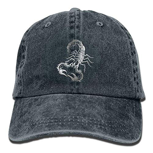 Scorpion Men DEFFWB Pattern Cap Cowboy Hats Women Cowgirl Denim Hat for Sport Skull OZU5PHZwq