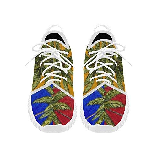D-verhaal Palmboom Grus Mens Boost Schoenen Boost Sneakers Energie Stuiteren Ademend Geweven Running Heren Schoenen