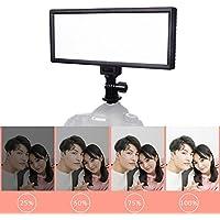 VILTROX L132B Super Slim LED Light ,0.78/2cm Ultra Thin 5400K dimmable LED photography lighting for Youtube webcam photography, CRI 95 ,Max Brightness 1082LM