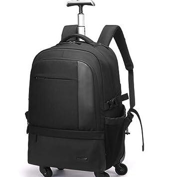 PLAQV Viaje de Negocios Gran Capacidad Multifuncional Bolsa de Hombro Doble Trolley Mochila para Ordenador portátil