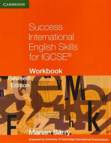 Success International English Skills for IGCSE Workbook (Cambridge International IGCSE)