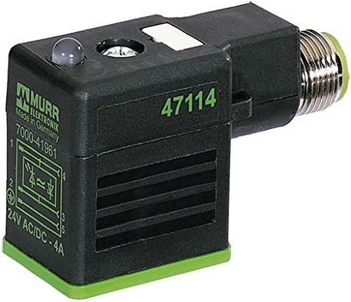 M12 Stecker hinten auf MSUD Ventilstecker BF B 10mm