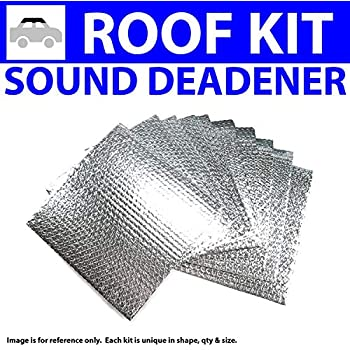 1987-1991 F150-250-350 Regular and Ext Cab Floor Hushmat 613081 Sound and Thermal Insulation Kit