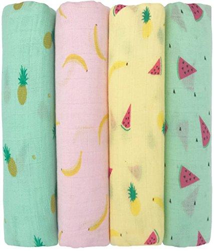 ❤️ Muslin Baby Swaddle Blankets