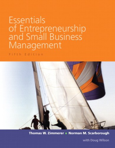Essentials of Entrepreneurship and Small Business Management (5th Edition)