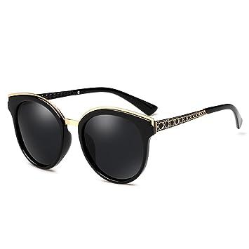 ZHIRONG Polarisierte Damen-Sonnenbrille von, 100% UV Block +, Fahren, Tourismus, Angeln, Golf-Brille spielen, ( Farbe : Braun )