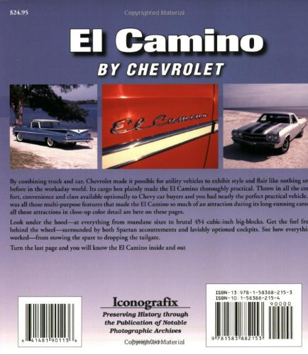 El camino by chevrolet mike mueller 9781583882153 amazon books fandeluxe Image collections