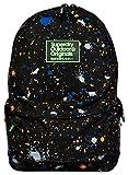 Superdry Men's Summer Splatter Montana Backpack, Black Grit, One Size