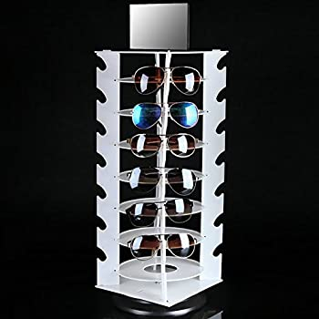 Amazon.com: White sunglasses display plastic eyeglass