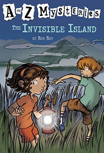 Invisible Web (The Invisible Island (A to Z Mysteries))