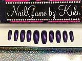 Just Purple Hand Designed Nail Set