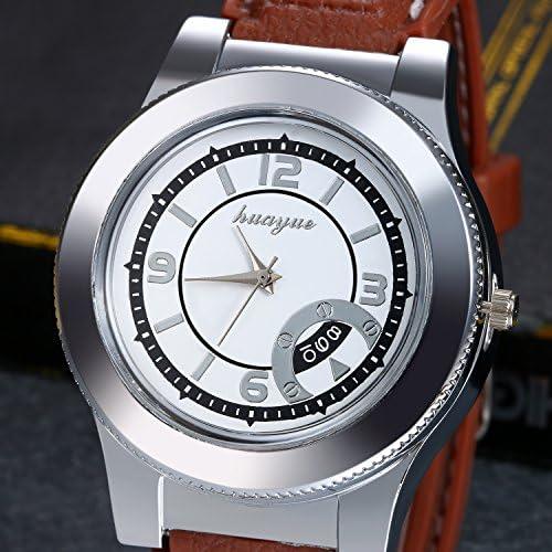 [スポンサー プロダクト]Lancardo 腕時計 電子ライター 腕時計式ライター USB充電式 無炎 防風 ファッションクォーツ 時計 ブラック ガス オイル不要 ブラック ギフト最適 (ブラック)