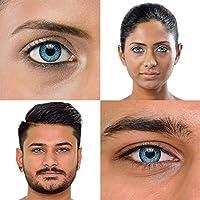 chromaview Lentillas Tritono de Color Azul Grisáceo de 1 Día (Pack de 10) - Sin Graduación: Amazon.es: Salud y cuidado personal