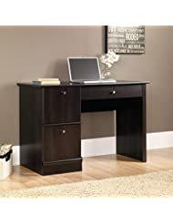 Sauder Computer Desk, Cinnamon Cherry Finish