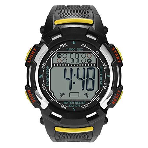 Watch,YJYdada Luxury Men Analog Digital Military Sport LED Waterproof Wrist Watch New ()