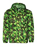 The North Face James Shell Youth Boys Rain Hooded Jacket (M 10/12, Flsh Green)