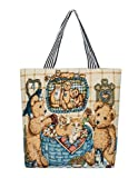 Authentic Large Canvas Tote-Canvas bag (18